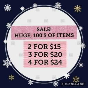 🎈2 for $15, 3 for $20, 4 for $24🎈